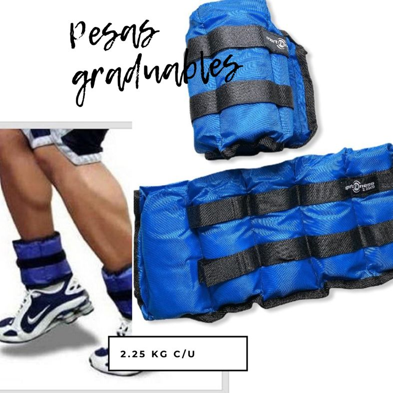 Pesas Sportfitness para Tobillos y Brazos